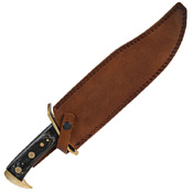 Timber Rattler Full Tang Fixed Blade Bowie Knife