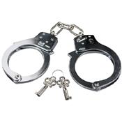 Double Lock Steel Handcuff