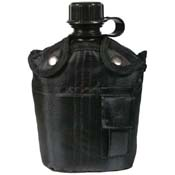 4 Piece Canteen Kit With Cover & Aluminum Cup