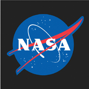 NASA Meatball Logo T-Shirt - Black