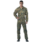 Mens Air Force Style Flightsuits