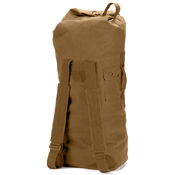 G.I. Style Canvas Double Strap Duffle Bag