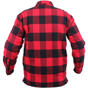 Ultra Force Mens Extra Heavyweight Buffalo Plaid Sherpa-Lined Flannel Shirts