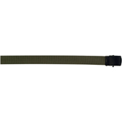 Military Black Buckle Web Belts - 54 Inch