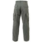 Ultra Force Mens Vintage Vietnam Rip-Stop Fatigue Pant