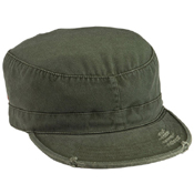 Solid Vintage Fatigue Cap