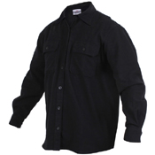 Mens Heavy Weight Solid Flannel Shirt