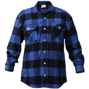 Extra Heavyweight Buffalo Plaid Flannel Cotton Shirt