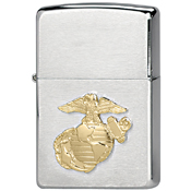 Zippo Military Marines Crest Lighters