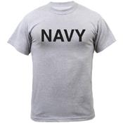 Ultra Force Mens Navy Physical Training T-Shirt