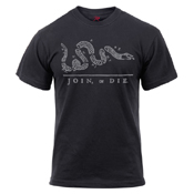 Join or Die Printed T-Shirt