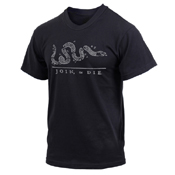 Join or Die Printed T-Shirt