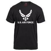 US Air Force Emblem Printed T-Shirt