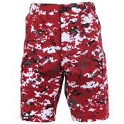 Mens Camo Poly/Cotton BDU Cargo Shorts