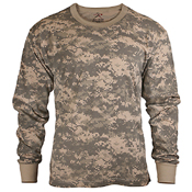 Ultra Force Kids Long Sleeve Camo T-Shirt