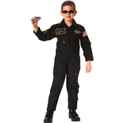 Kids Flight Coverall with Patches
