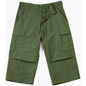 Ultra Force Mens 6 Pocket BDU Capri Pant