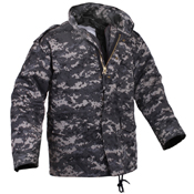 Ultra Force Mens M-65 Camo Field Jacket