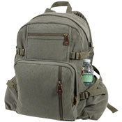 Jumbo Vintage Canvas Backpack