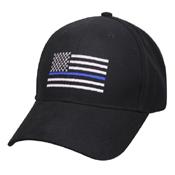 Thin Blue Line Flag Low Profile Adjustable Cap
