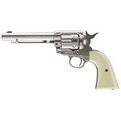 Colt Peacemaker Nickel BB Revolver - Steel BB