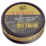RWS R10 Match Competition 500pc Pellets - .177 Cal