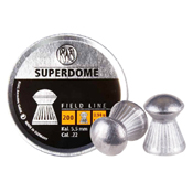 RWS Superdome .22 Round-Nose Pellets 200-Pack