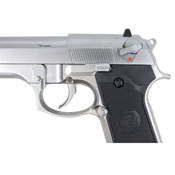 WE-Tech M92 Chrome Full-Auto GBB Airsoft Pistol