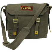 World Famous Canvas Messenger Bag