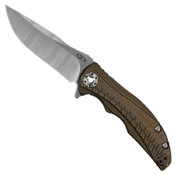 Zero Tolerance 0609 Drop-Point 3.4 Inch Blade Folding Knife